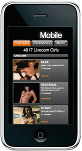 smartphone sexcams